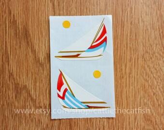 SALE boat sticker - MRS GROSSMAN sticker