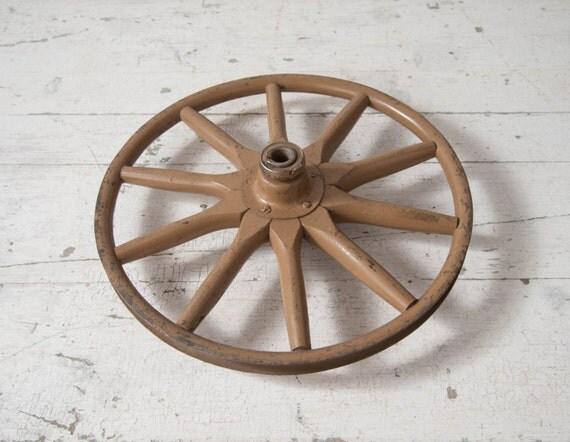 roue en bois vintage rayons roue buggy metal jante roue de. Black Bedroom Furniture Sets. Home Design Ideas