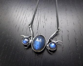 DISCONTINUED- Andromeda Necklace - Labradorite