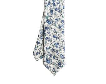 Remy - Blue Floral Men's Tie