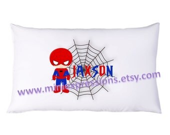 Personalized  Spiderman  PillowCase