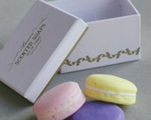 Macaroon Shaped Scented Soaps