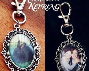 Custom Photo Keyring - Custom Keyring with any picture of your choice - Photo keyring -Photo keychain -Gift idea - Custom gift idea
