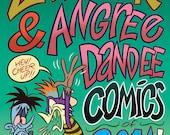 Zad Zak & Angree Dandee Comics of 2014! - Comic Book