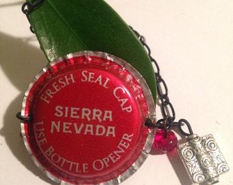Sierra Nevada bottle cap bracelet