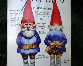 My Gnomies - Vintage Paperback Book - Gnomes - Wil Huygen / Rein Poortvliet - everything you need to know about our little forest friends.