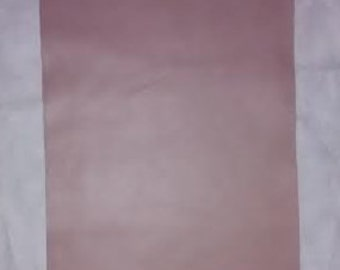 """Taupe Leather cow hide 9""""x12"""" Piece Scrap"""