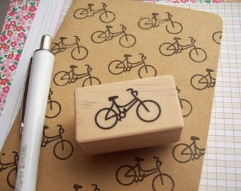 Bicycle Bike Rubber Stamp
