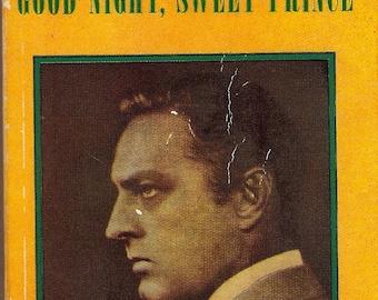 John Barrymore Good Night, Sweet Prince Gene Fowler 1947 PB 1st Pocket 430
