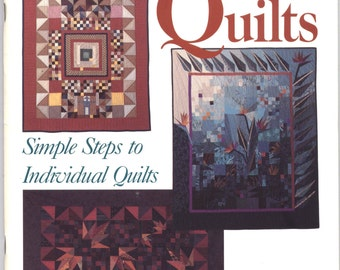 One-of-a-Kind Quilts by Judy Hopkins - SIGNED BY AUTHOR TIB12259