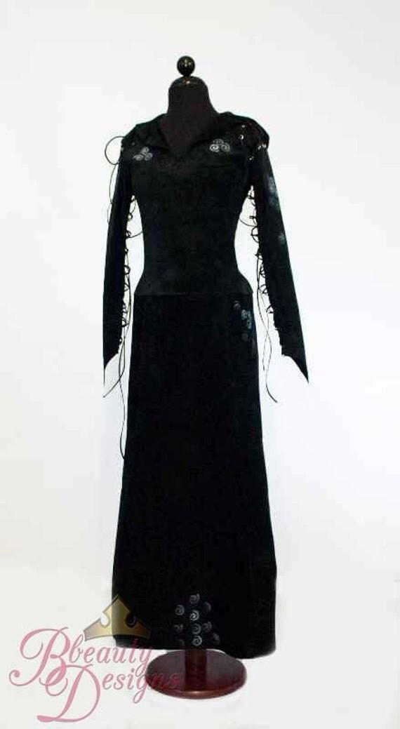 Bellatrix Harry Potter Costume Dress Adult Custom