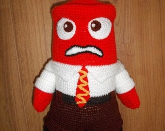 Anger from the Inside Out Crochet Pattern PDF