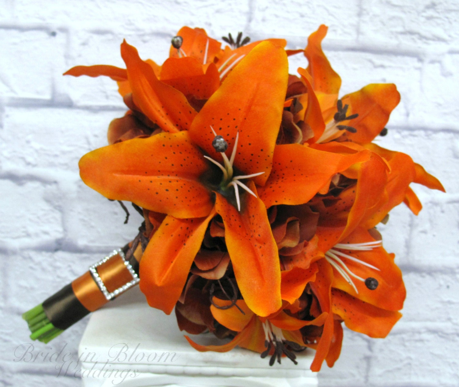 Tiger Lily Wedding Bouquet Tiger Lily Wedding Bouquet