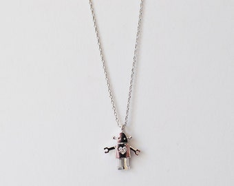 Rae Necklace - Silver