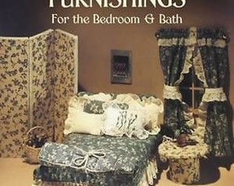 Making Doll House Furnishings for Bedroom and Bathroom 44 miniature scale projects