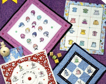 Iron on Hot Transfer Patterns for Mini Quilts by Nori Koenig DESIGN ORIGINALS Suzanne McNeill