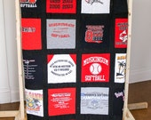 Custom-Made Memory T-shirt Quilts (Deposit ONLY)