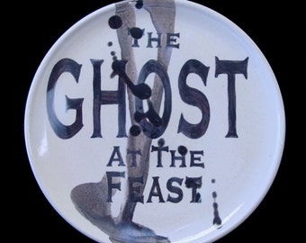 Ghost At The Feast Plate
