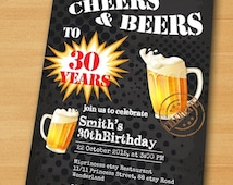 Popular Items For Beer Invitation On Etsy
