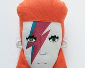 David Bowie / Ziggy Stardust Pillow Face - MADE TO ORDER