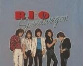 REO SPEEDWAGON 1981 tour T SHIRT