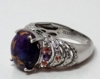 Mojave Purple Turquoise Ring