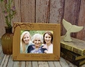 Personalized Frame Cherry Blossom - Family Like Branches on a Tree Roots Frame Custom Engraved Generations Frame