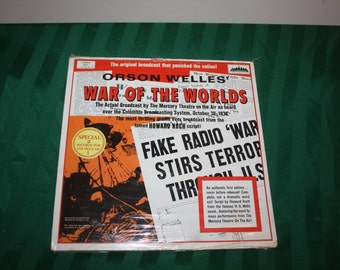 War of the Worlds 2 LP Set New Unopened