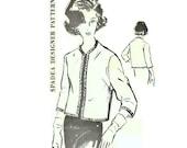 1960s Dinah Shore Spadea 453 Jacket Pattern Bust 36 Size 14 Round Neckline Quarter Length Sleeves Braided Trim Womens Vintage Sewing Pattern