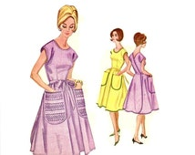 Popular Items For Apron Dress Pattern On Etsy