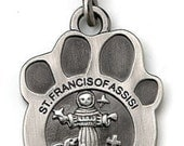 CUSTOM for Valeria Cherished Saints Saint Francis PROTECT my PET Religious Medal for your Beloved Pet