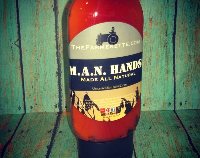 4 oz MAN HANDS (Made All Natural)