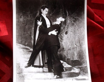 Dracula Bela Lugosi b&w still Plan 9 From Outer Space Monster Horror Bizarre