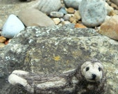 needle felt seal - READY TO SHIP