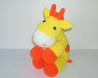 Cuddly Giraffe Amigurumi Doll