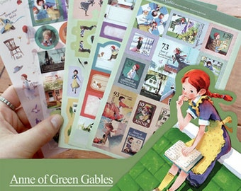 Anne of Green Gables Sticker (5 sheets)