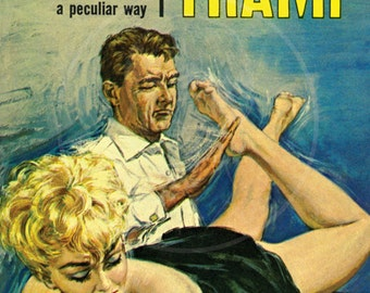 Birth of a Tramp - 10x17 Giclée Canvas Print of a Vintage Pulp Paperback Cover
