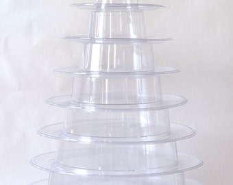 10 Tier Macaron Display Tower (Shipping Included)