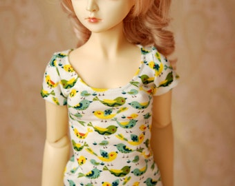 SD Ivory Bird Top For 1/3 BJD