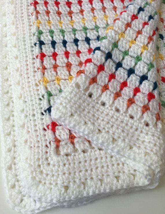 Crochet Baby Blanket Pattern Etsy : Crochet Pattern - Crochet Baby Blanket Pattern - Crochet ...