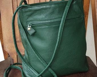 TURTLE    ///   Leather Shoulder Bag