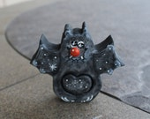 Halloween Decoration Bat Love Chunk with 3D Nose