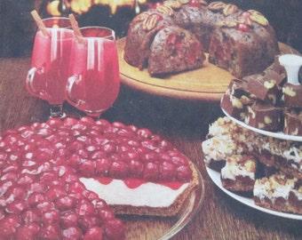 Vintage Cookbook Borden Condensed Milk Vintage Holiday Cookbook Borden Home for The Holiday