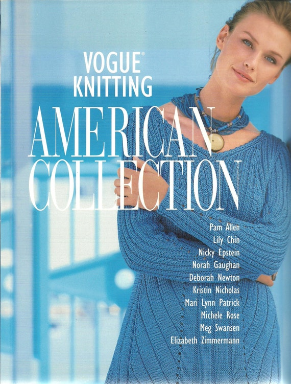 Vogue Knitting American Collection Softcover by DreamerLane