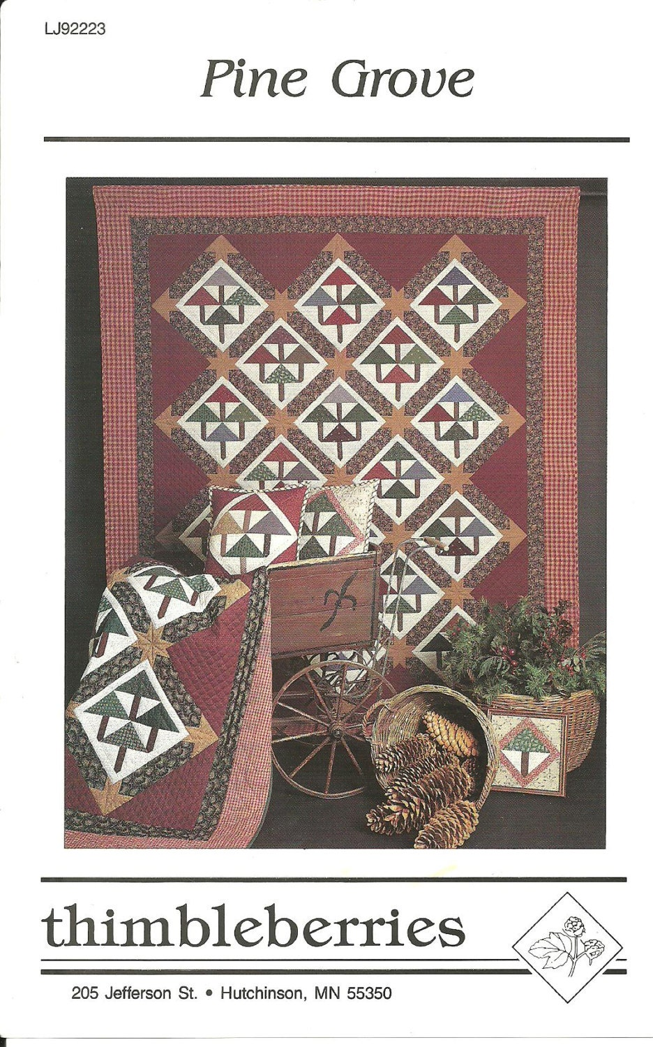 Pine Grove By Thimbleberries Pine Tree Quilt Pattern