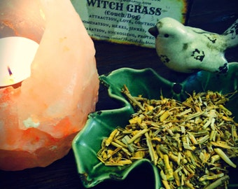 WITCH GRASS Dried, Loose Herb, Dog Grass, Couch Grass, Spiritual Herb, Witches Apothecary, Garden Herbal Magick, Witchcraft, Hoodoo