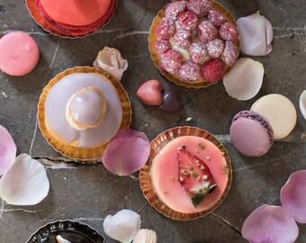 Paris Pastry Photography - Paris Desserts Fine Art Print, Patisserie, Macarons, Home Decor, Large Wall Art