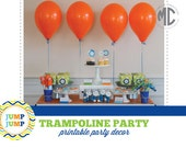 Trampoline Party - Digital, Printable Party Collection - Mirabelle Creations