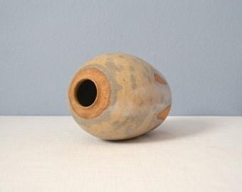 Vintage Studio Art Pottery Tall Vase