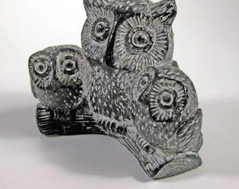 Vintage Owl Figurines Handmade